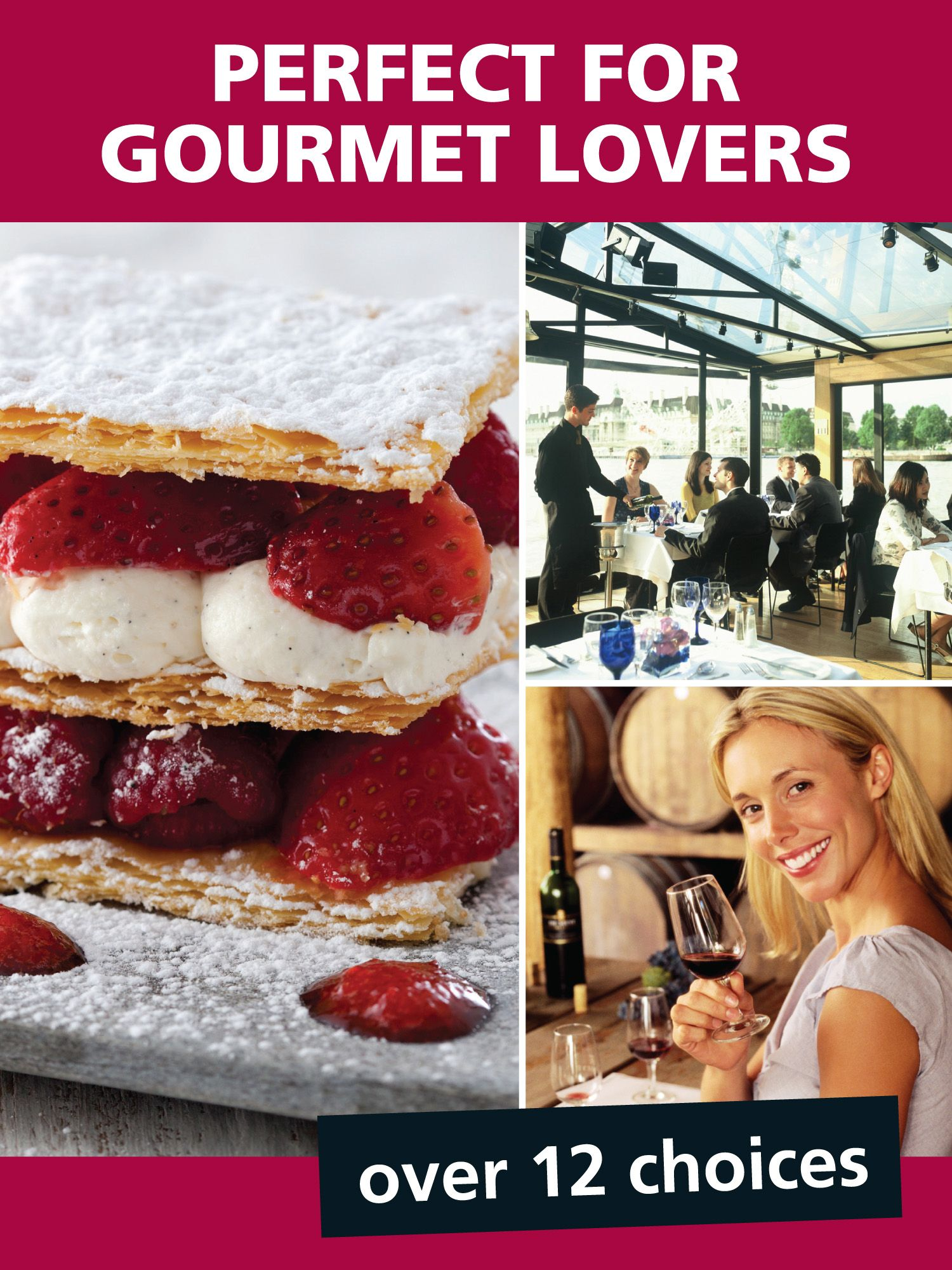 Perfect for gourmet lovers