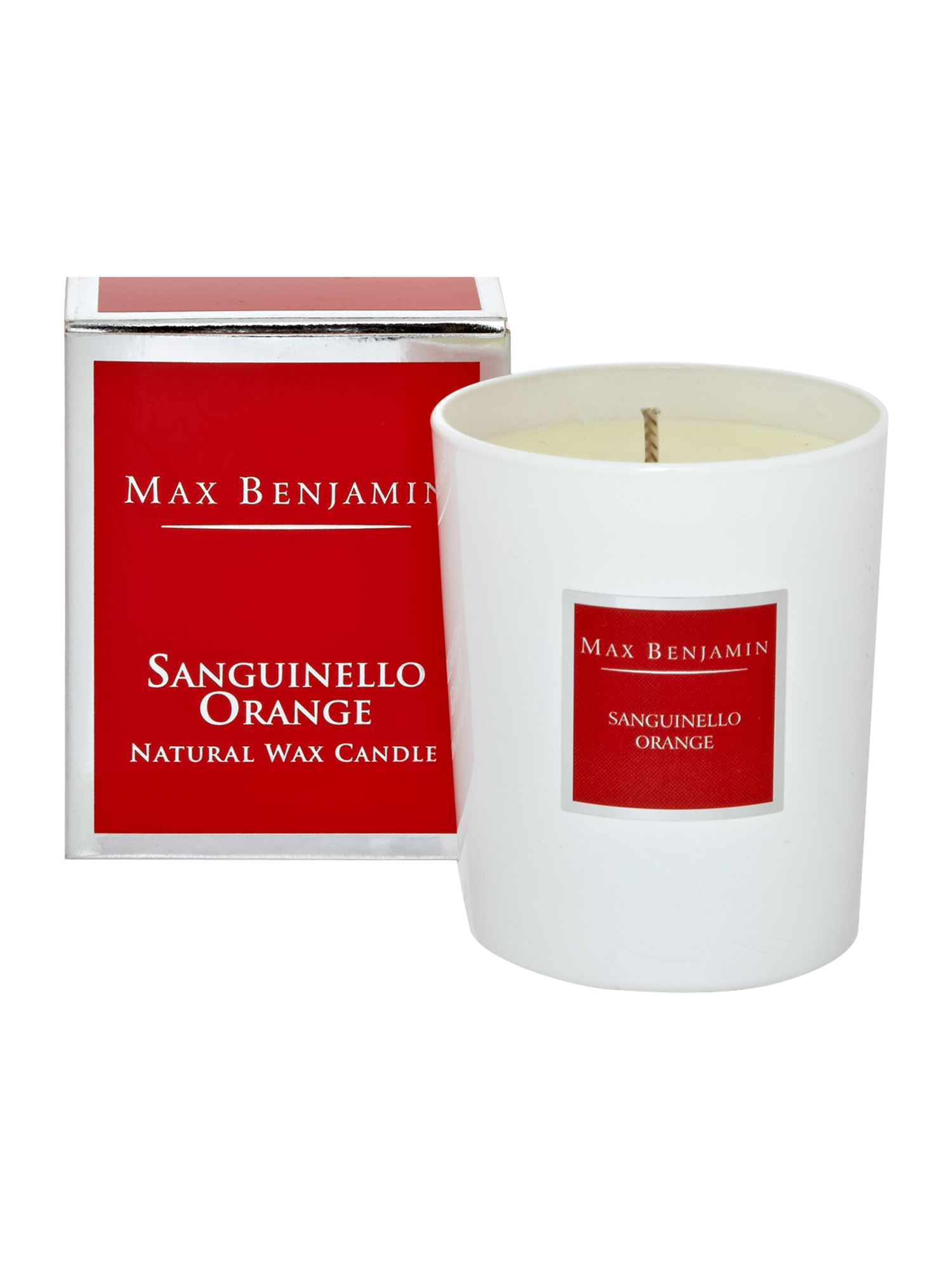 Sanguinello orange candle