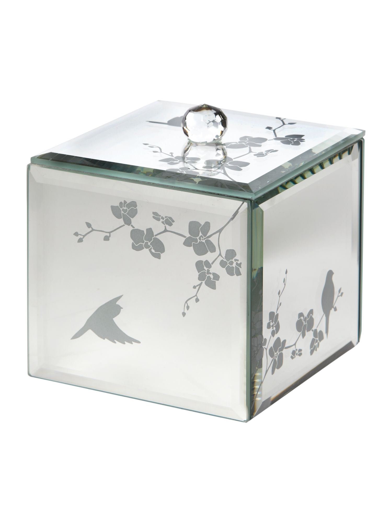 Mirrored trinket box