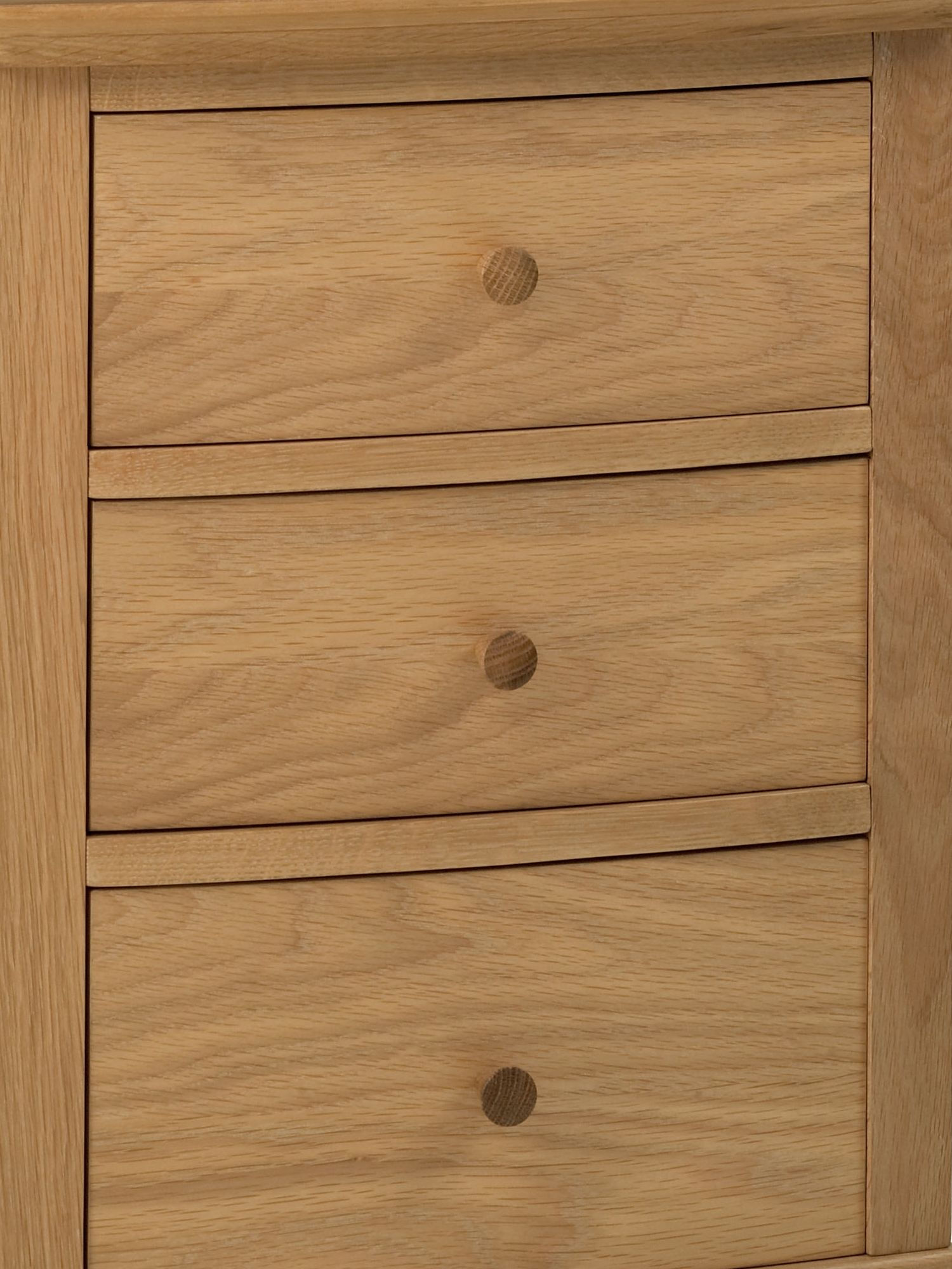 Lille 3 drawer bedside chest