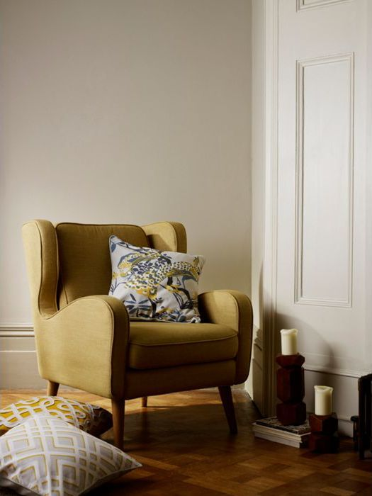 Crawford occasional chair citrine
