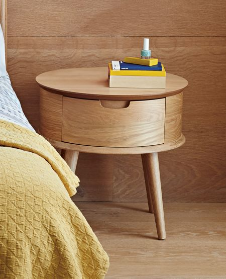 Linea Hoxton 1 drawer bedside chest