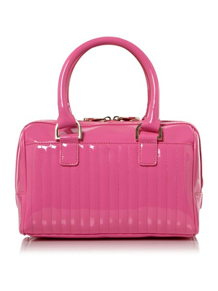 Ted Baker Quilted mini bowling bag