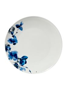 Watercolour floral dinner plate