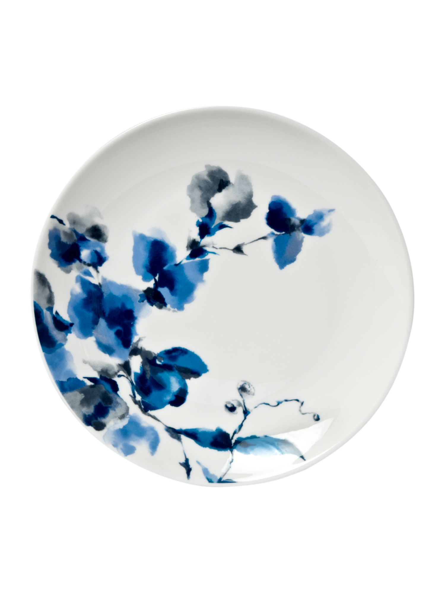 Watercolour floral side plate