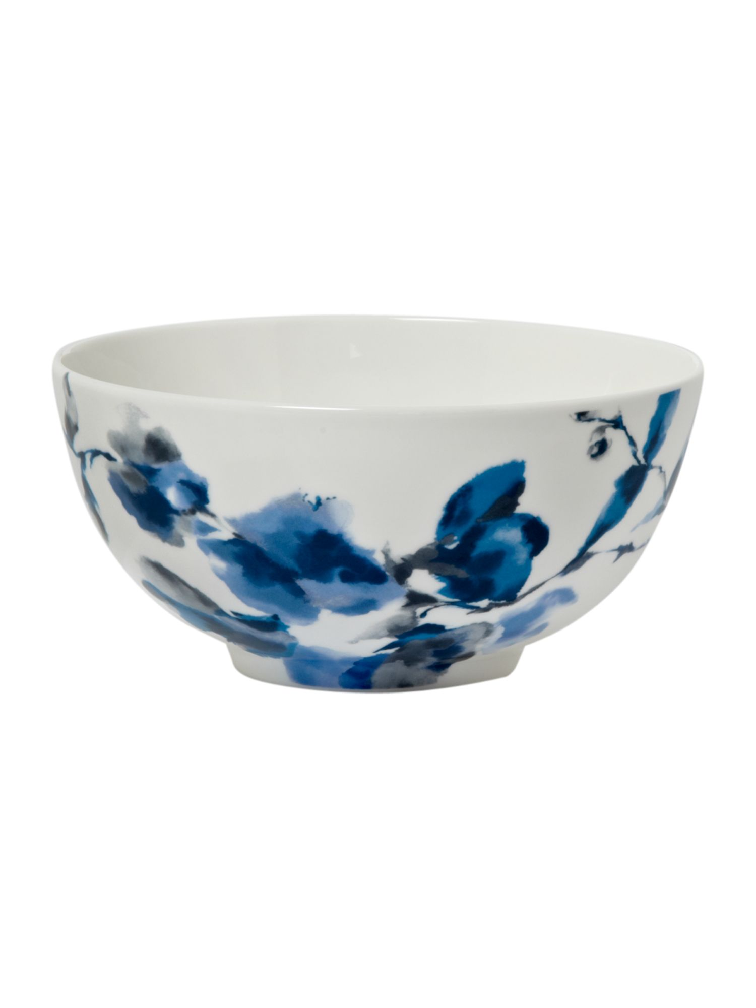 Watercolour floral cereal bowl