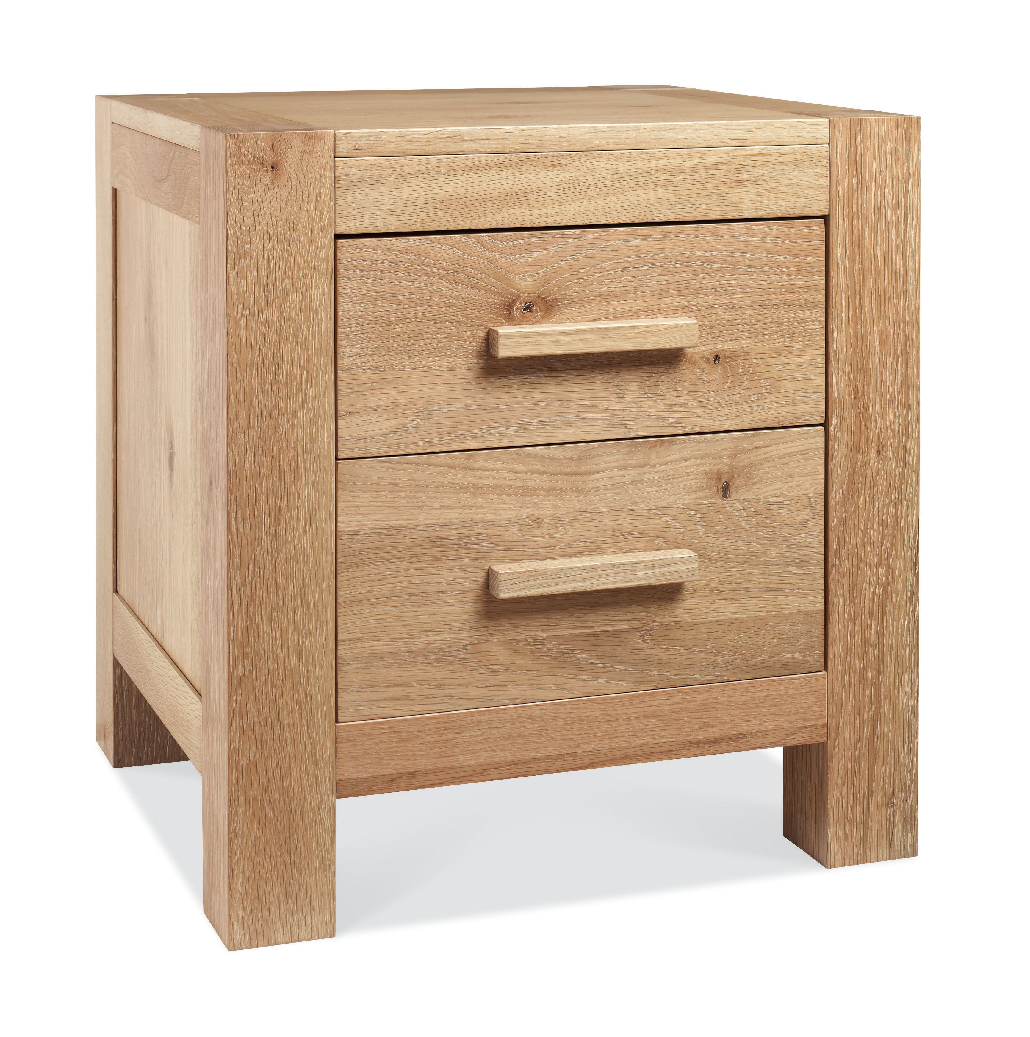 Rennes 2 drawer bedside chest