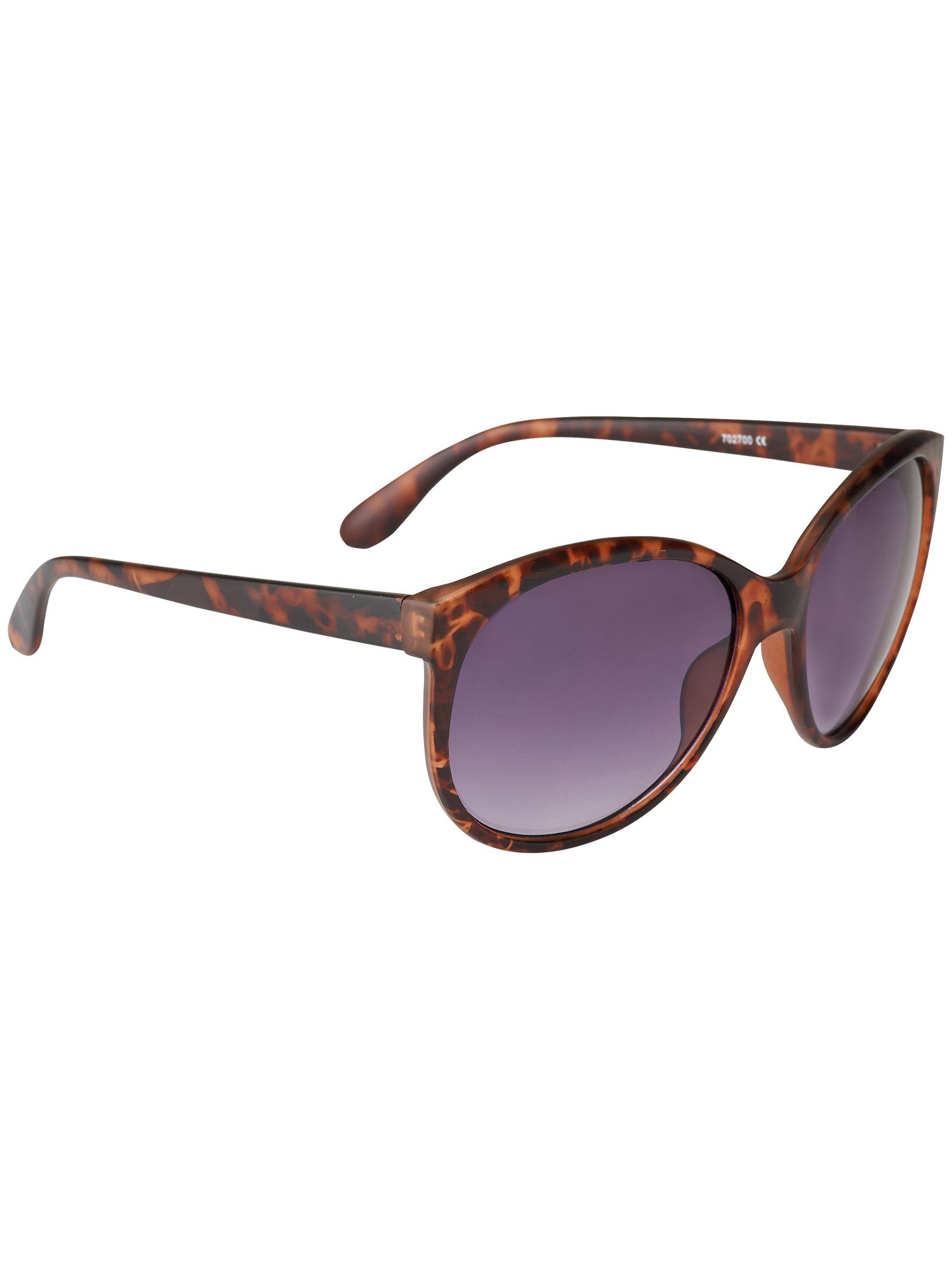 Babette matt cats eye sunglasses
