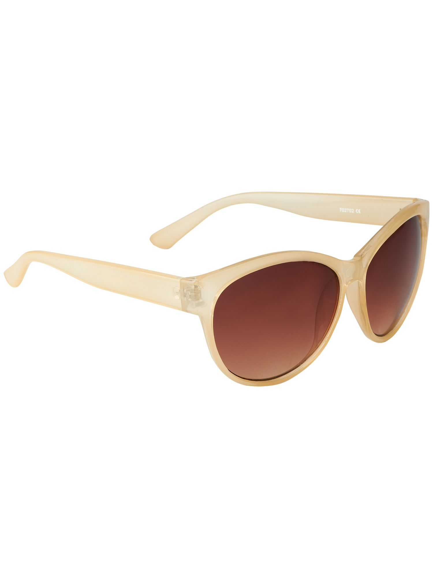 Nola opaque cats eye sunglasses