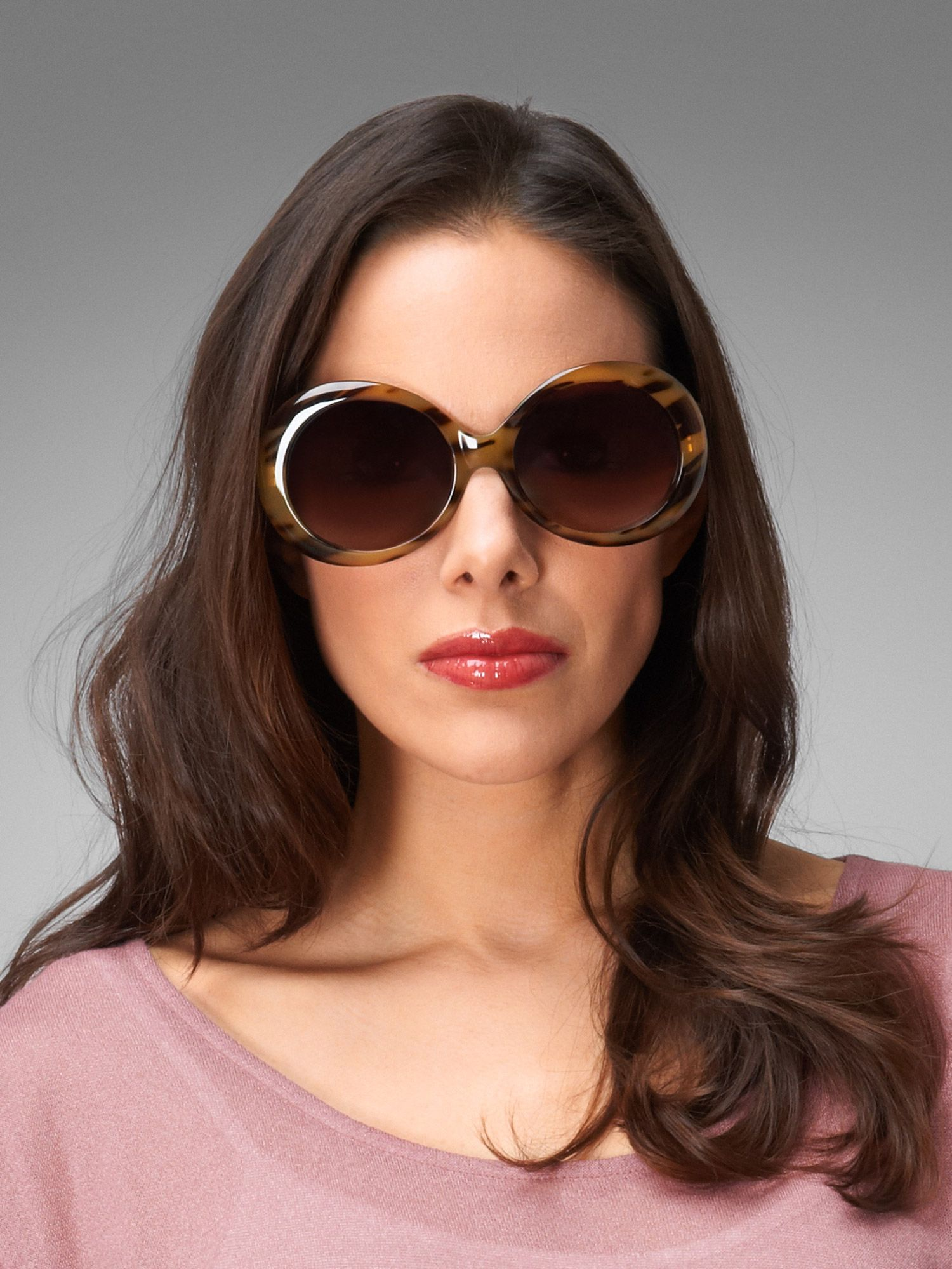 Bailey oval sunglasses