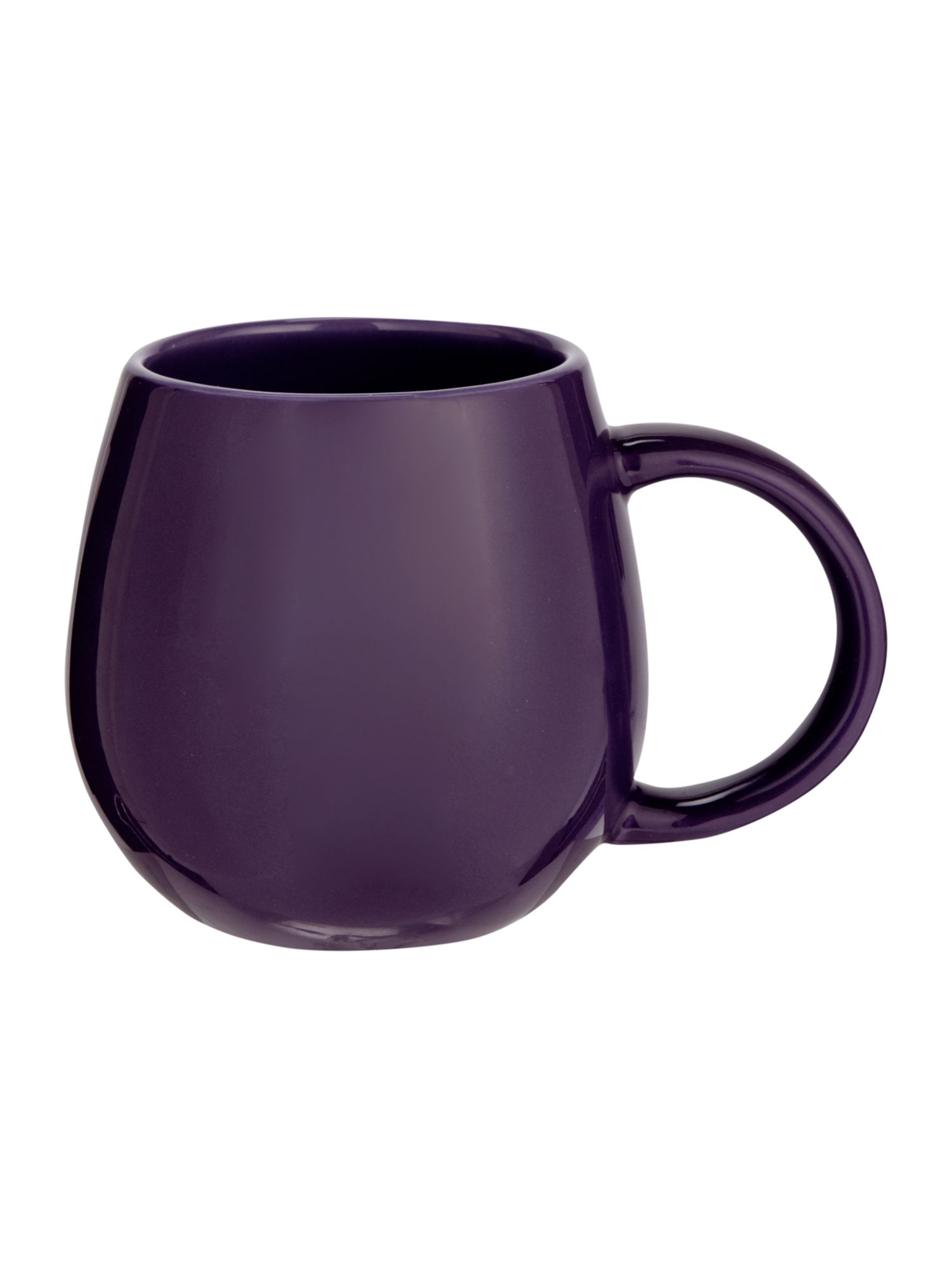 Hug mug purple