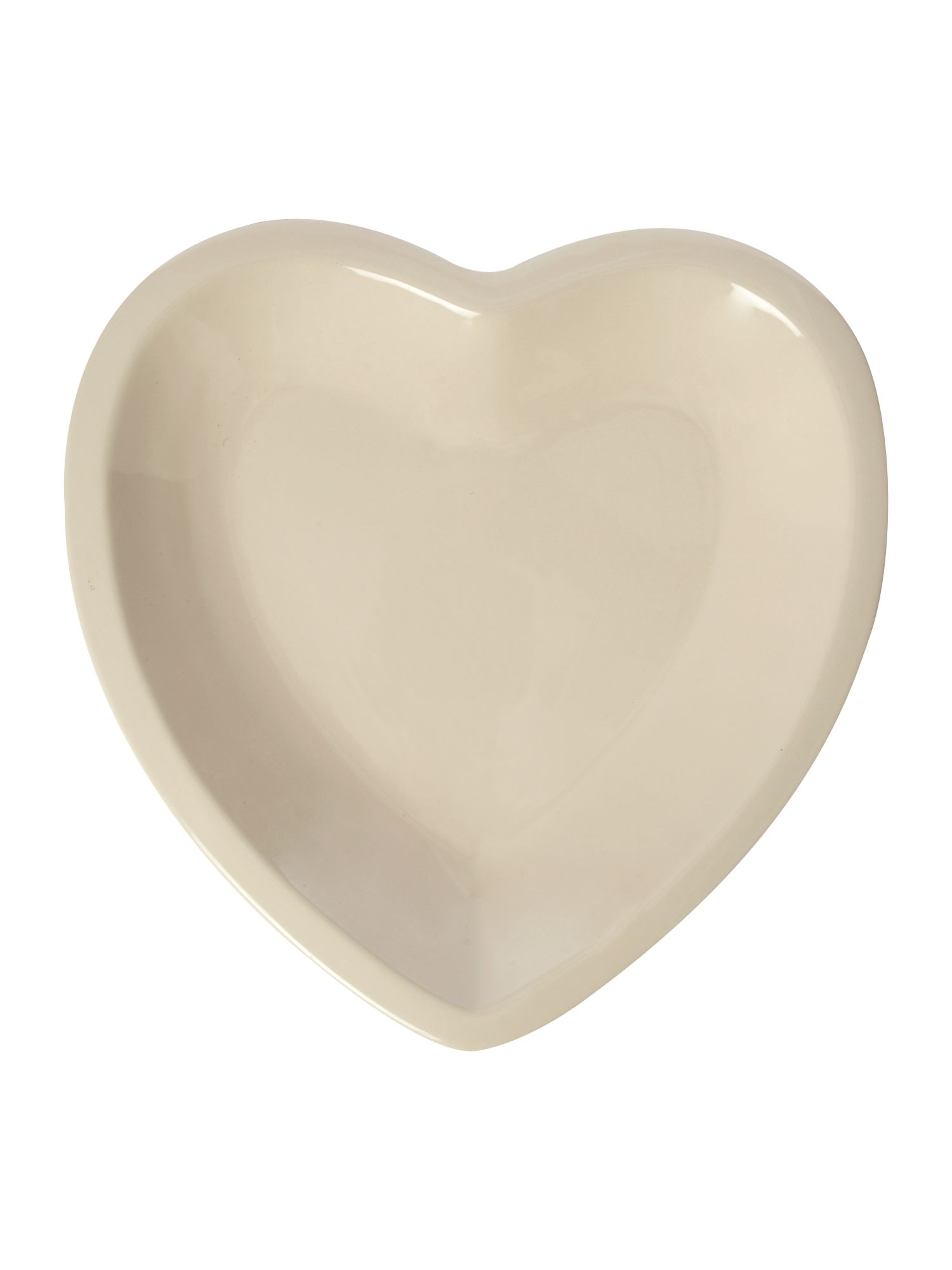 Maison heart dish, cream