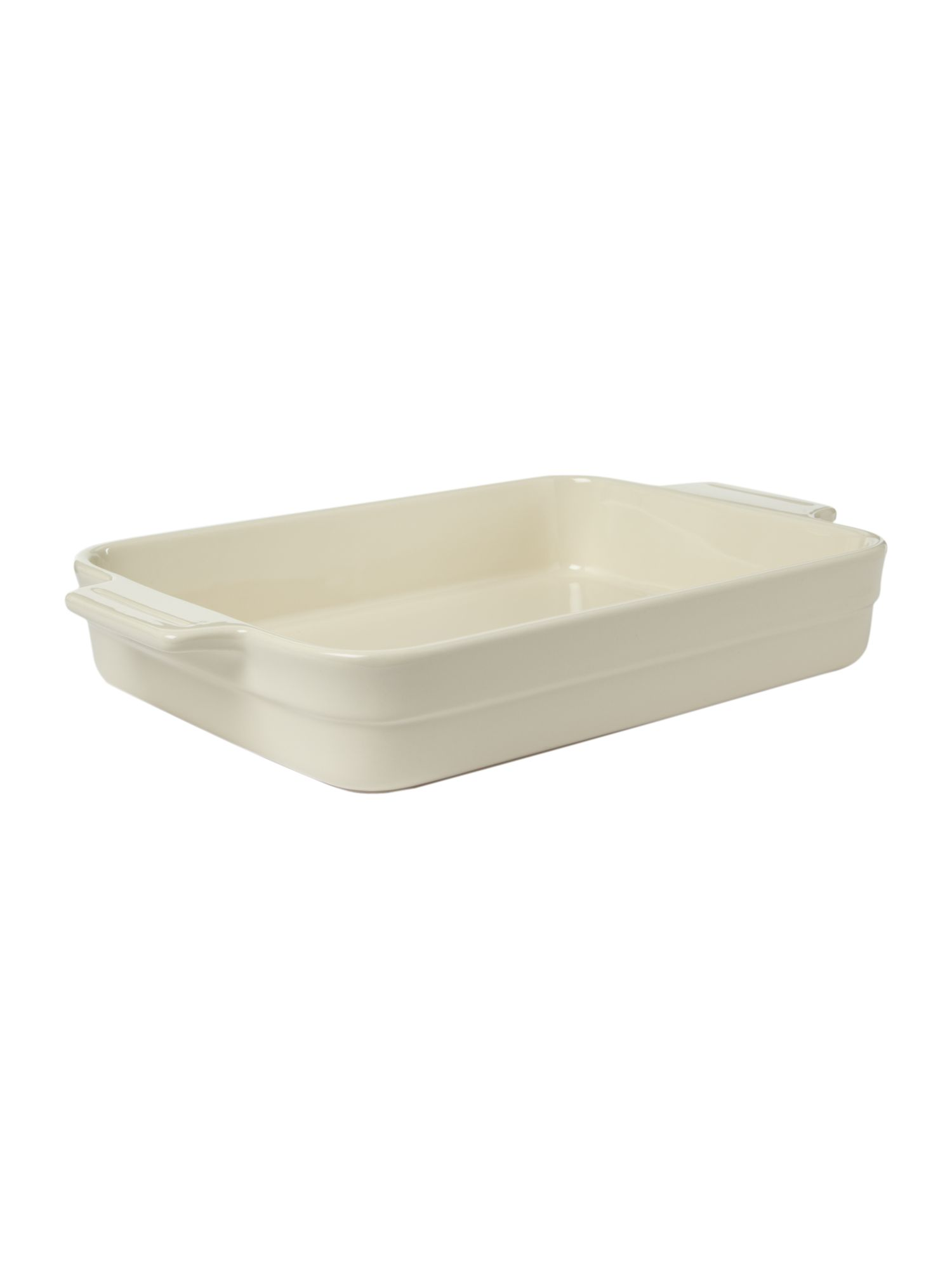 Maison rectangular baker, cream