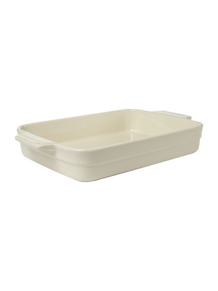 Linea Maison rectangular baker, cream