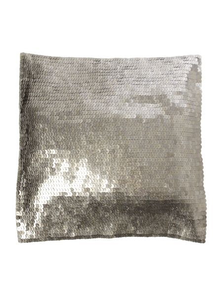Linea Silver sequin cushion