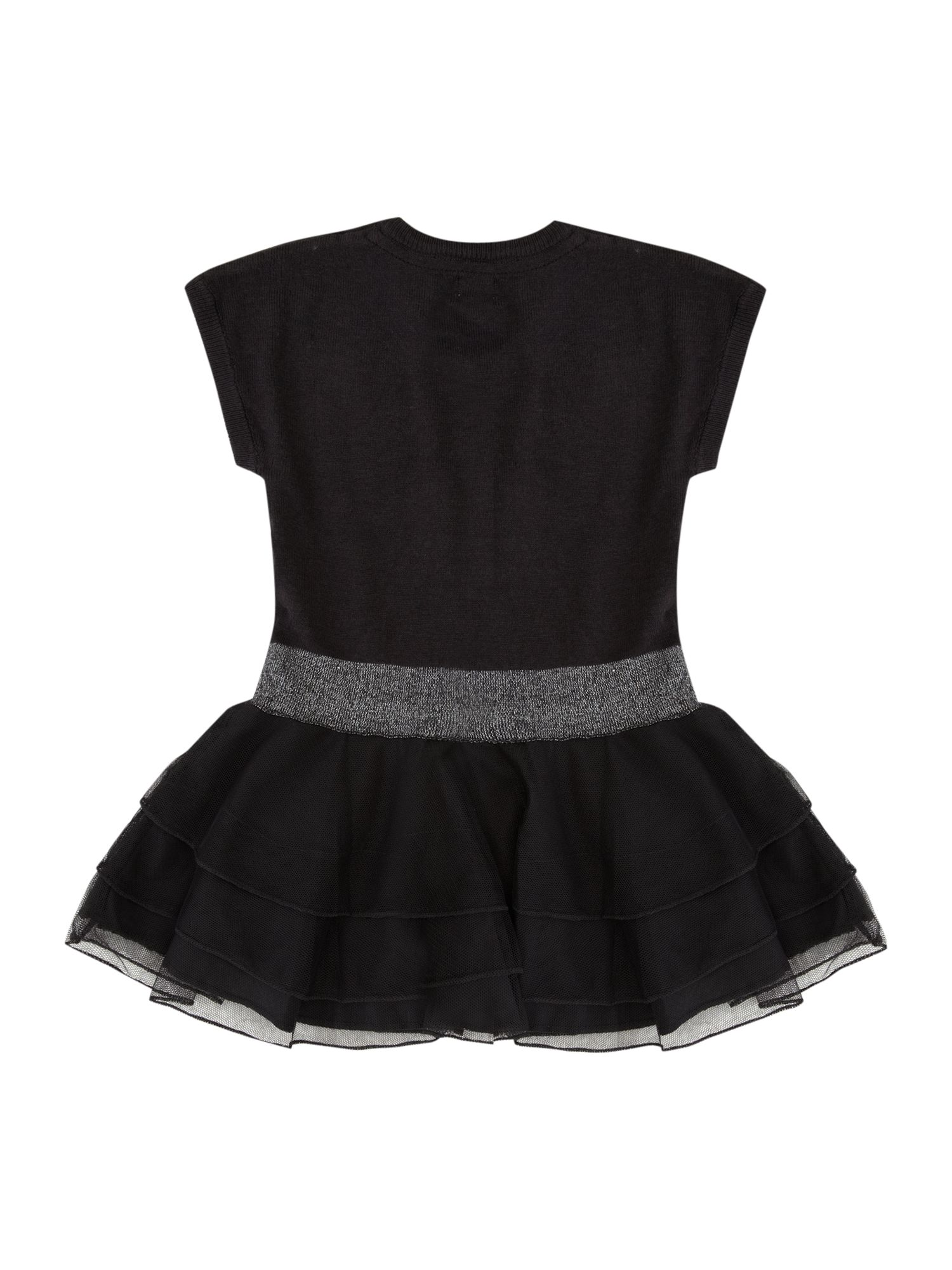 Girl`s frill hem party dress