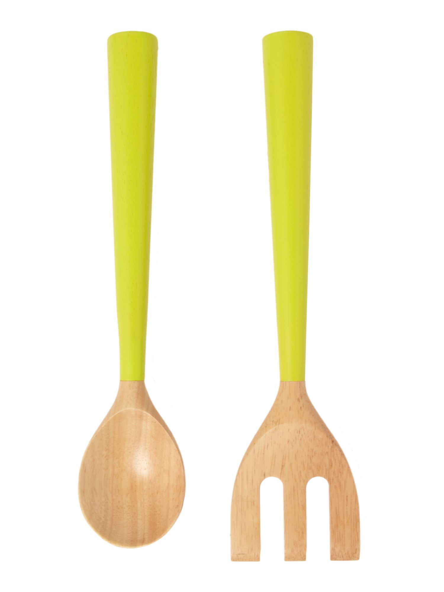 Wooden serving utensils, lime
