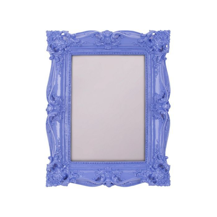 Purple baroque photo frame 5x7