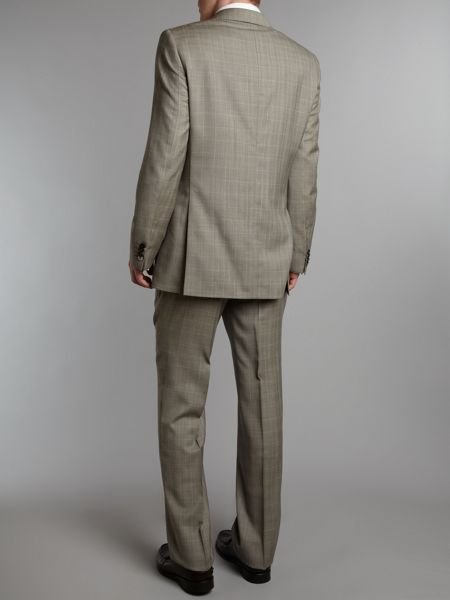 Simon Carter Check single breasted suit