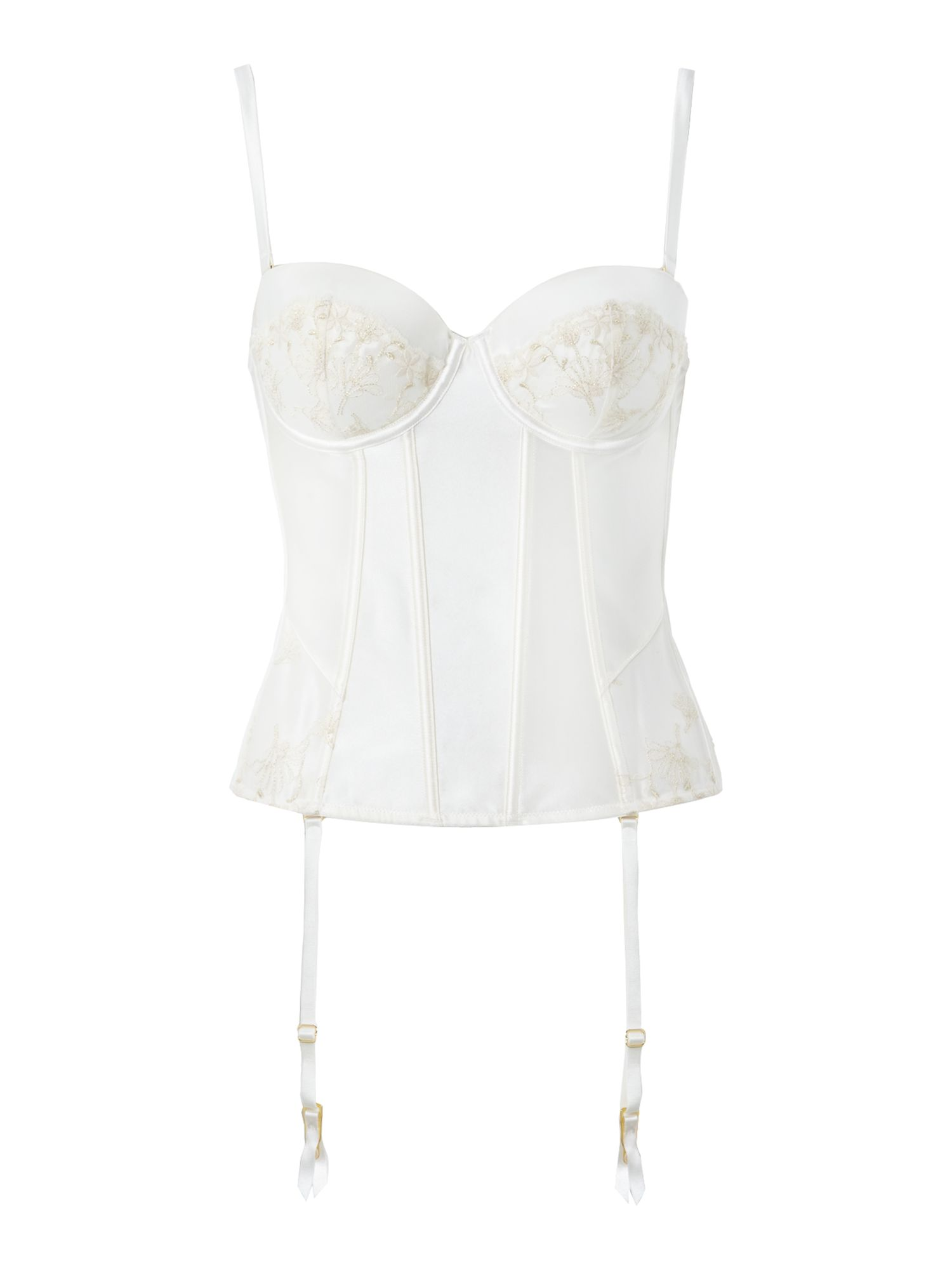 Amour bridal embroidery basque