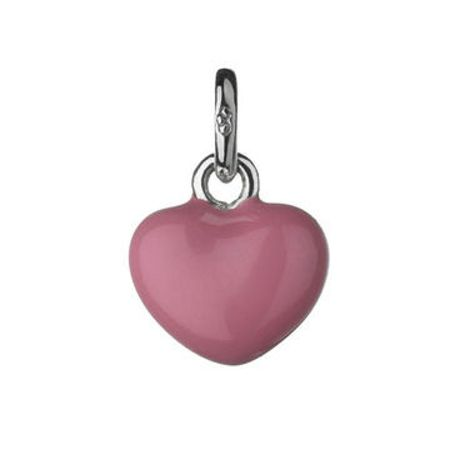 Links of London Mini Pink Heart Charm