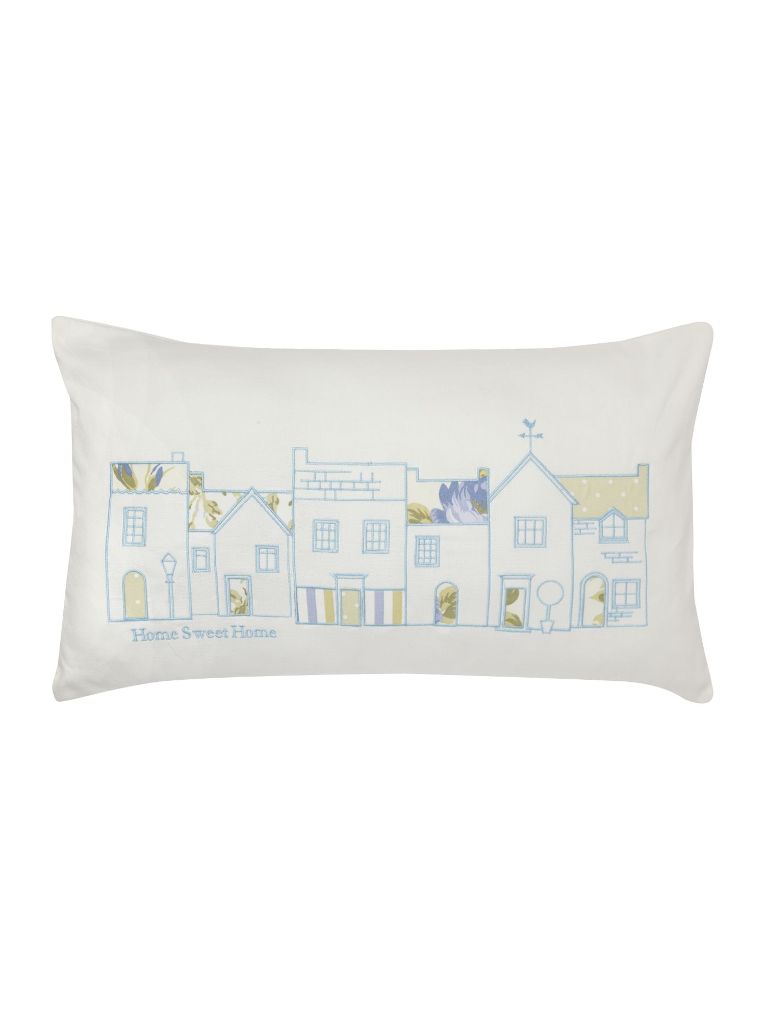 Delilah boudoir cushion lemon