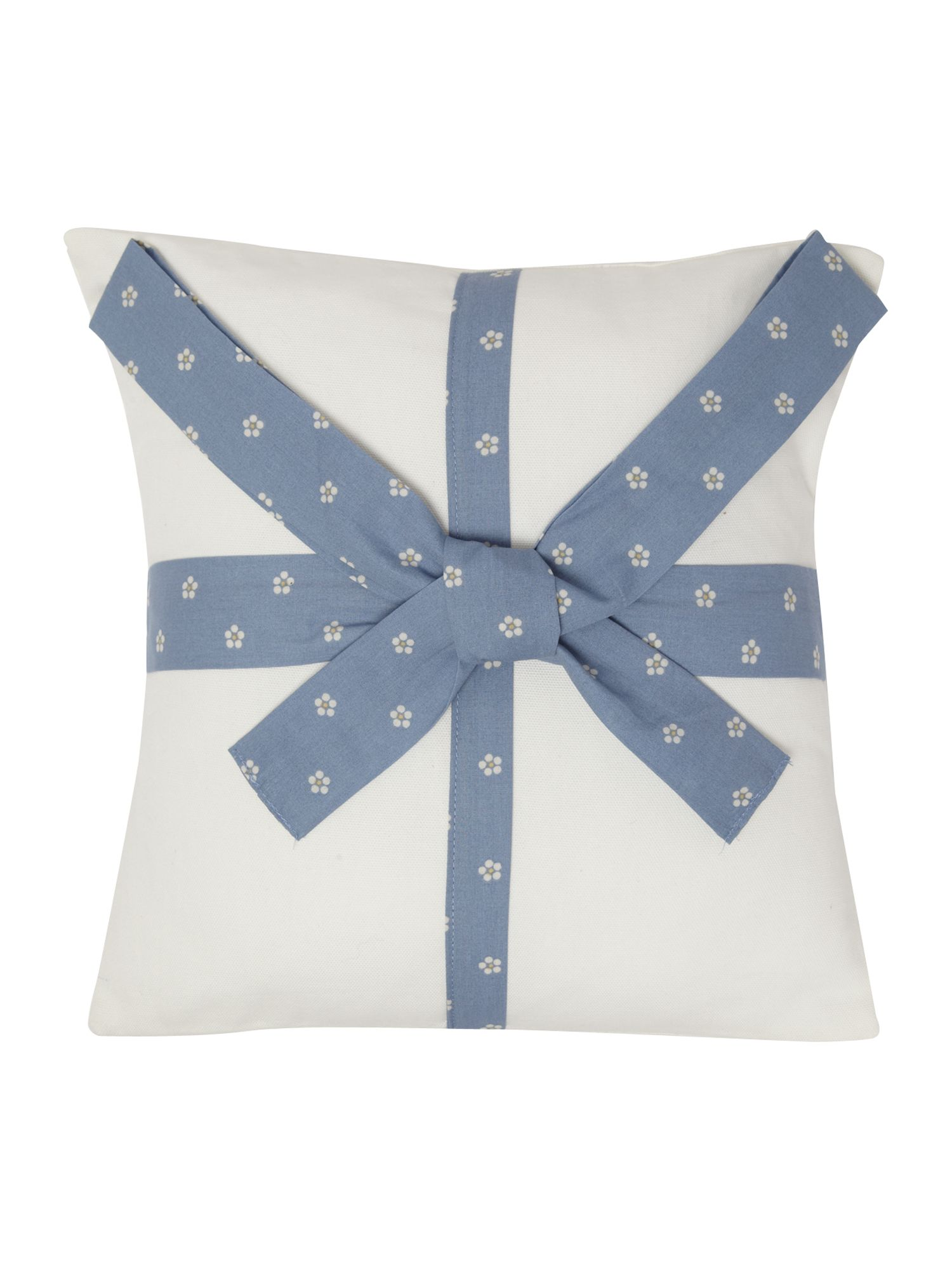 Emmie cushion cornflower