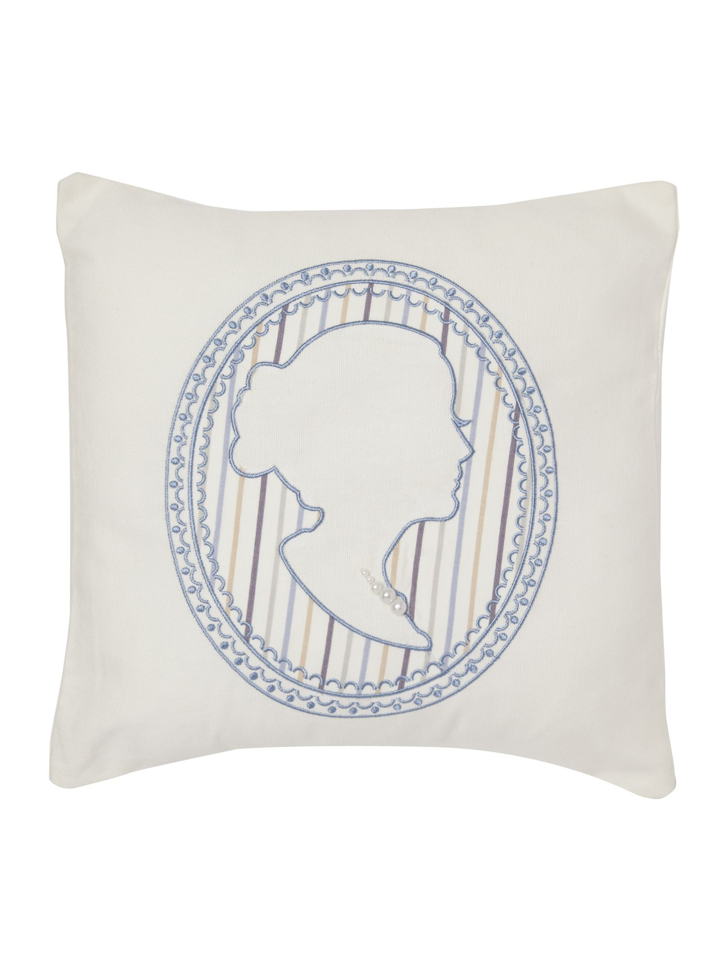 Melody cushion wedgewood