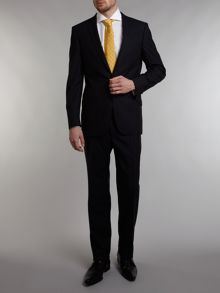 Peak dogtooth texture single breasted suit