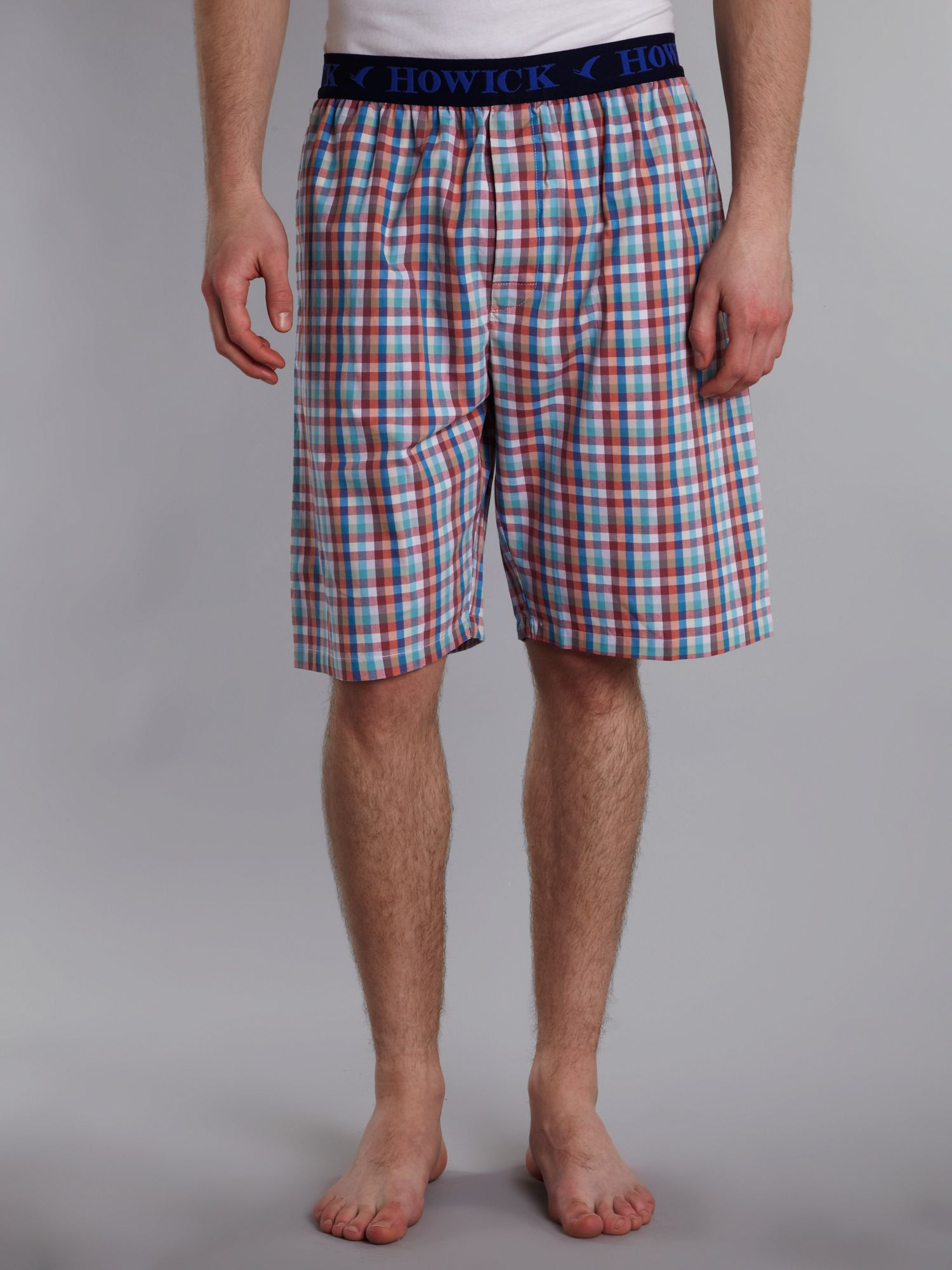 Neopolitan check pj short