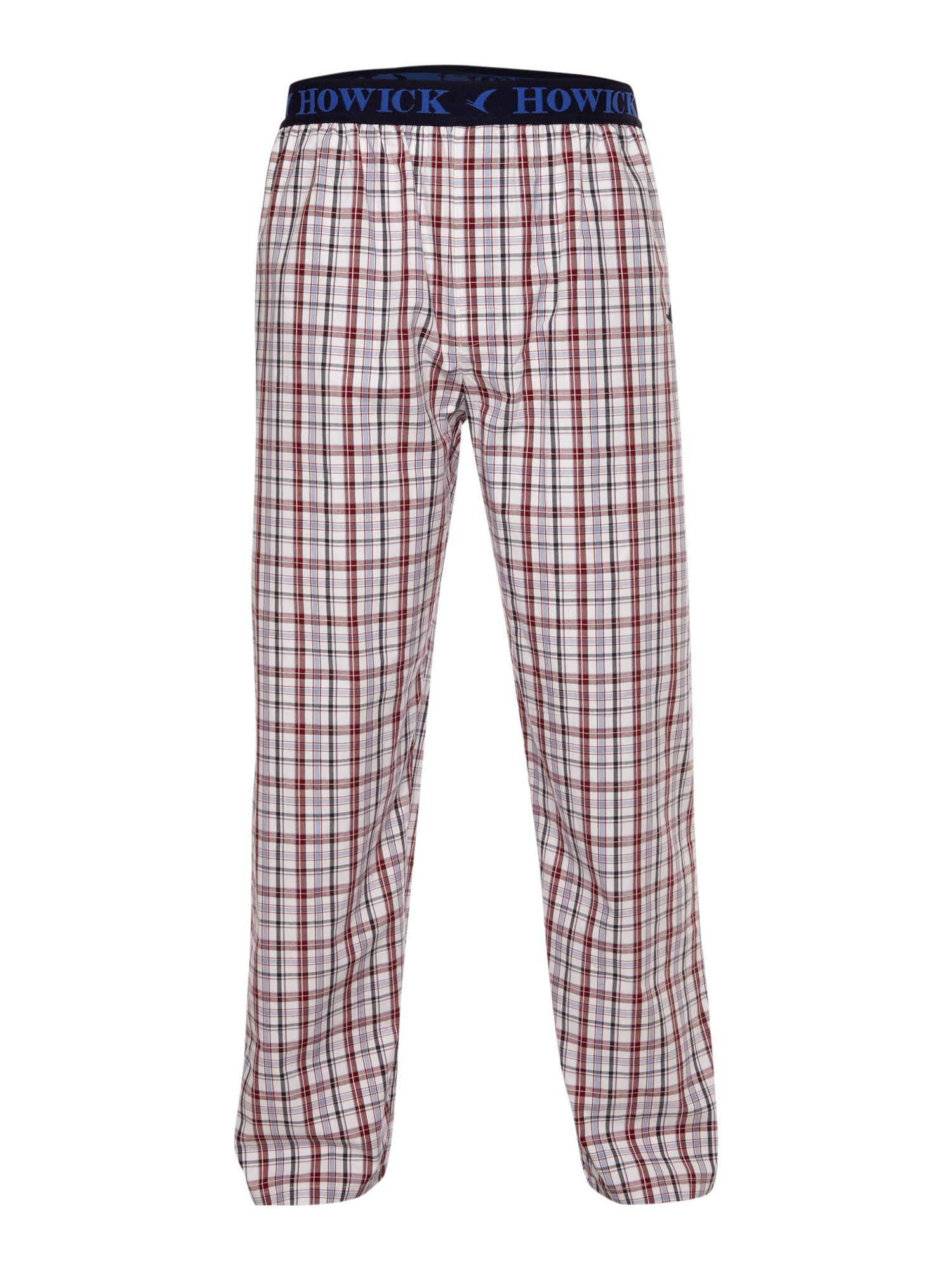 Checked pj pant