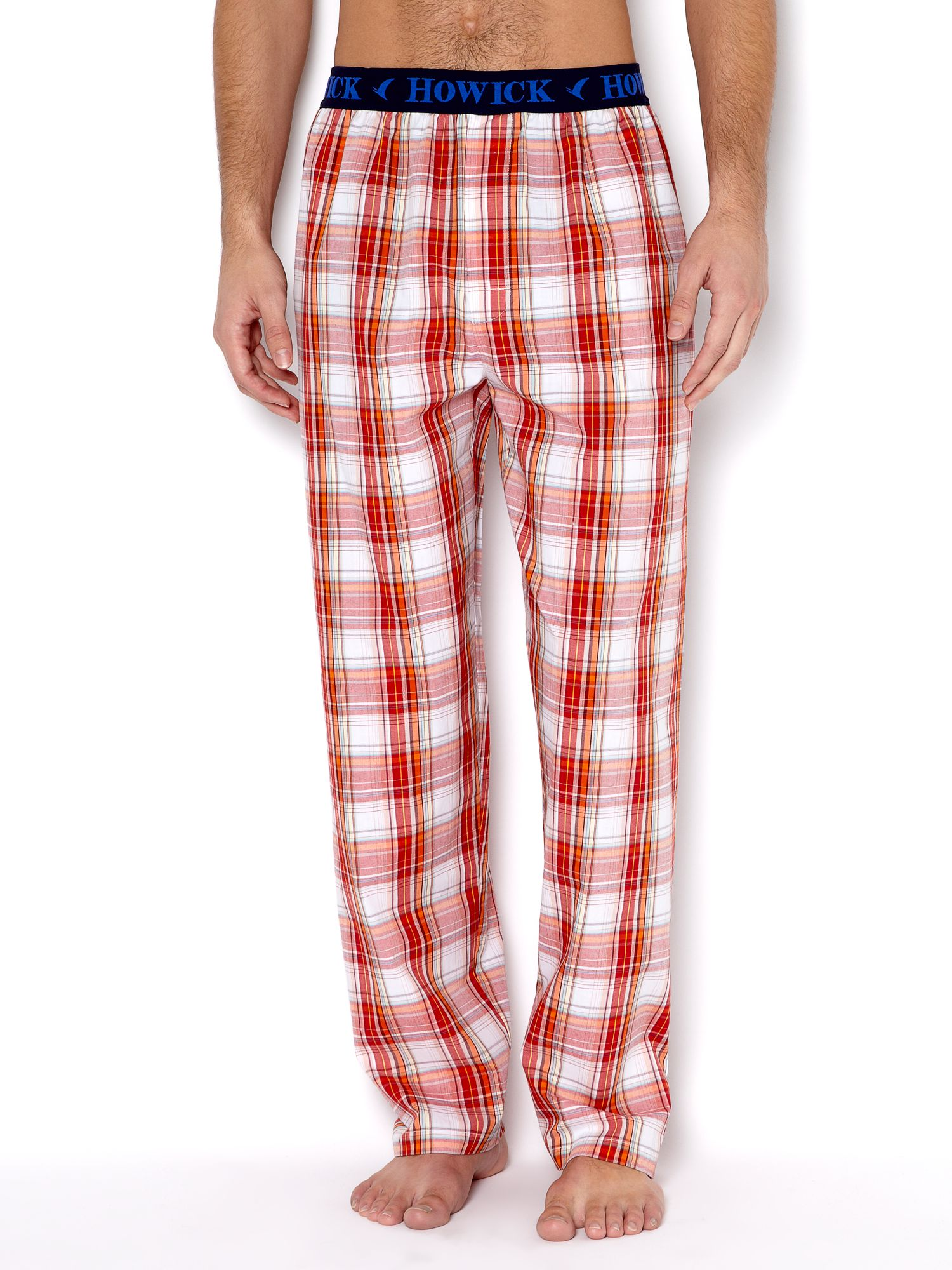 Madras checked pj pant