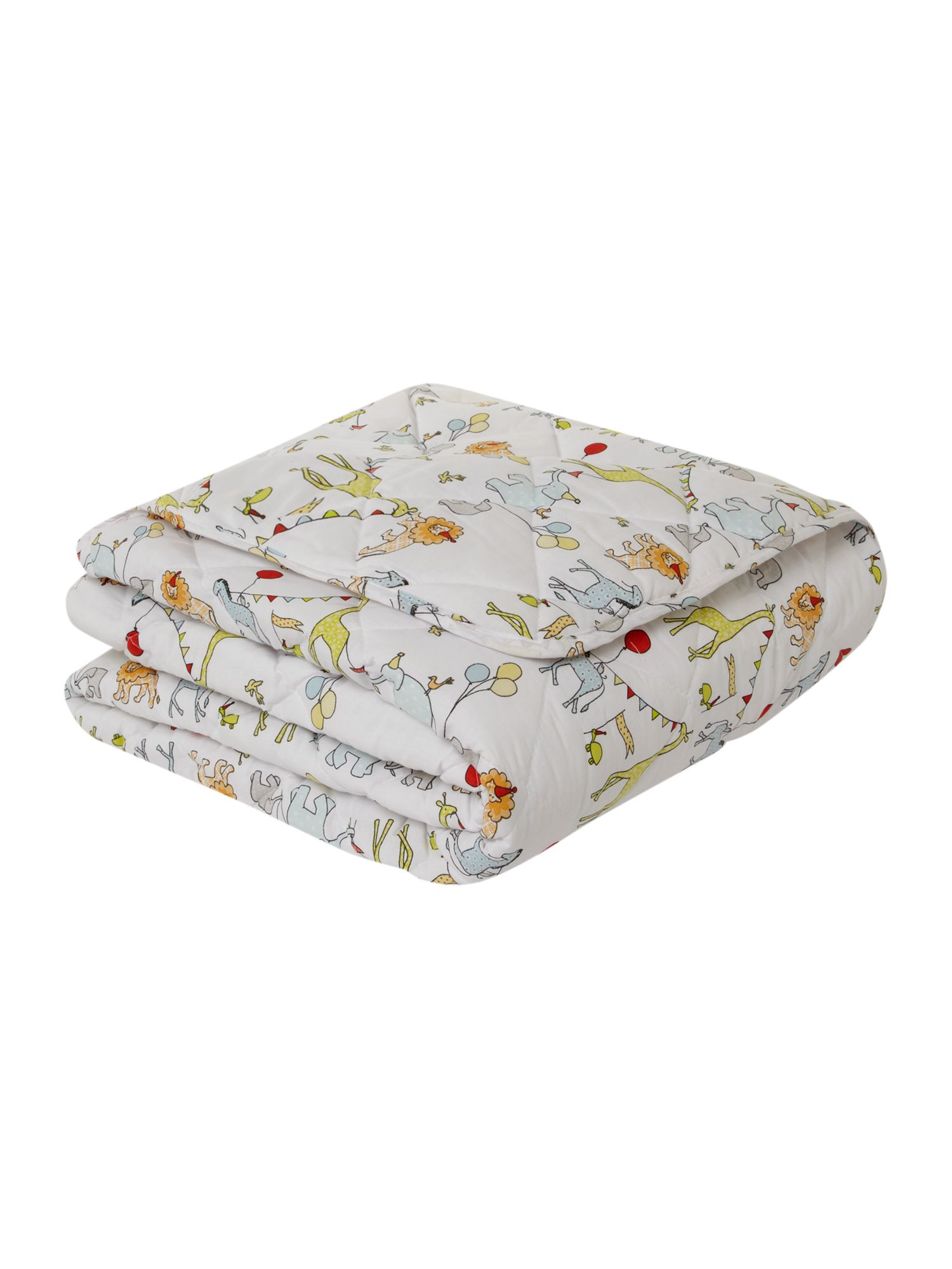 Circus Parade bed throw