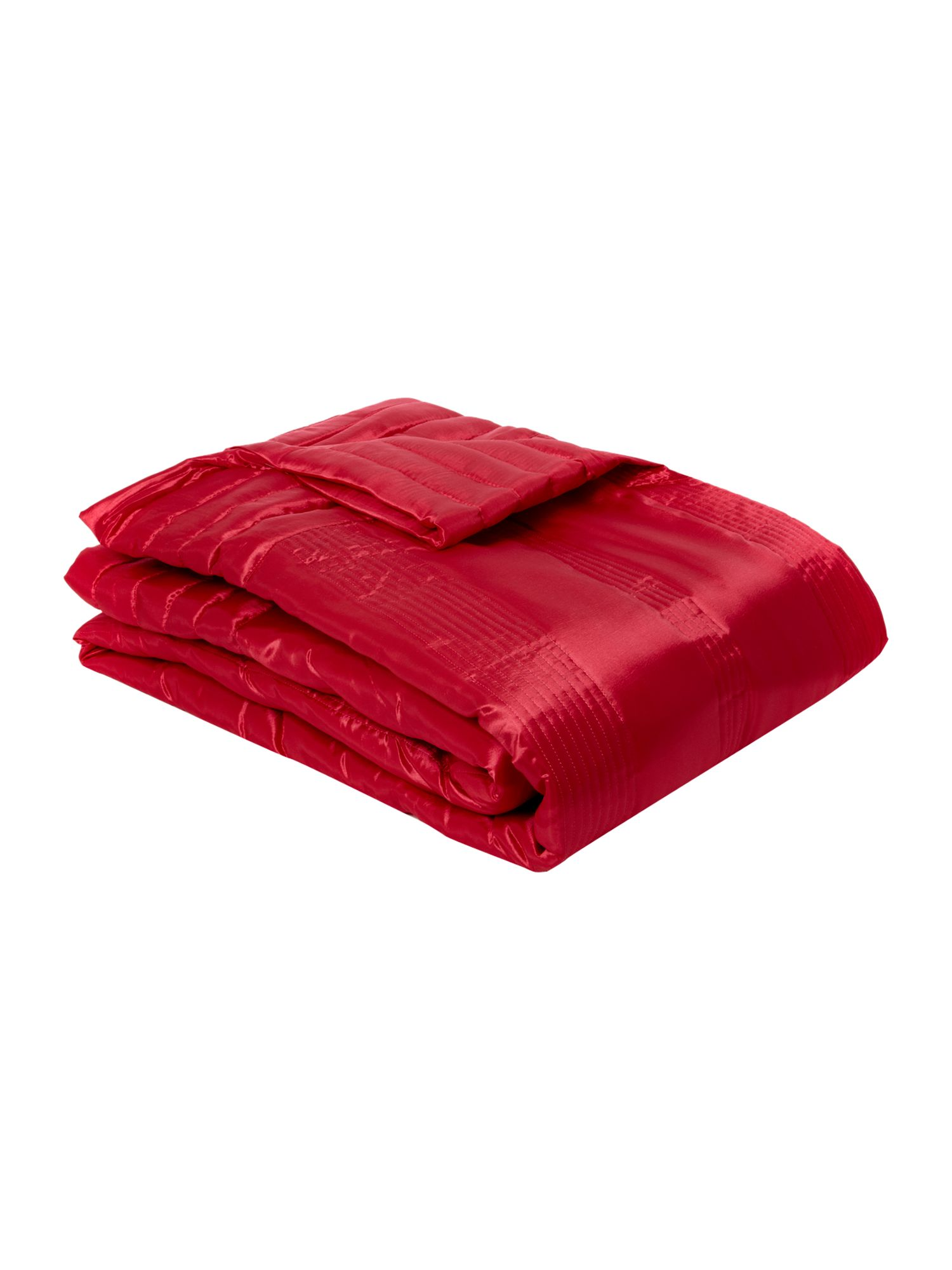 Changeant throw in pink