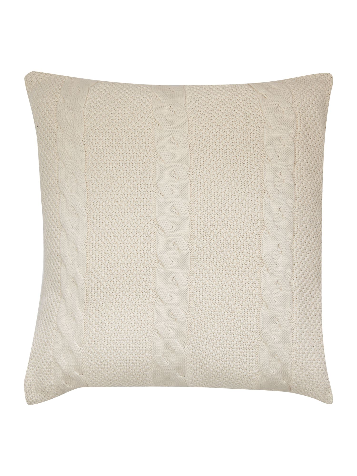 Plaited Knit cushion