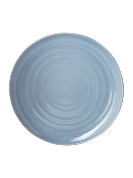 Linea Echo blue dinner plate