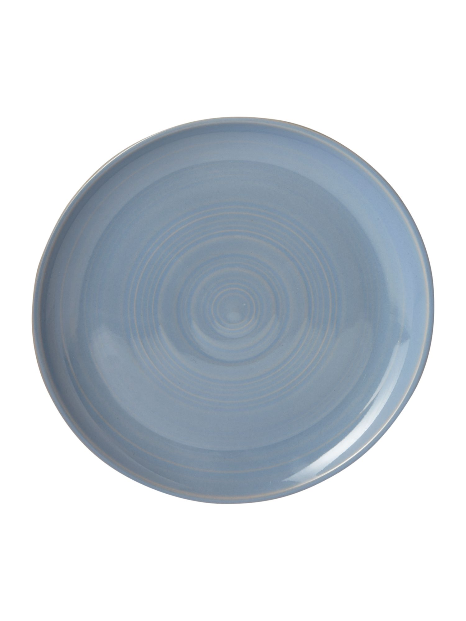 Echo blue side plate