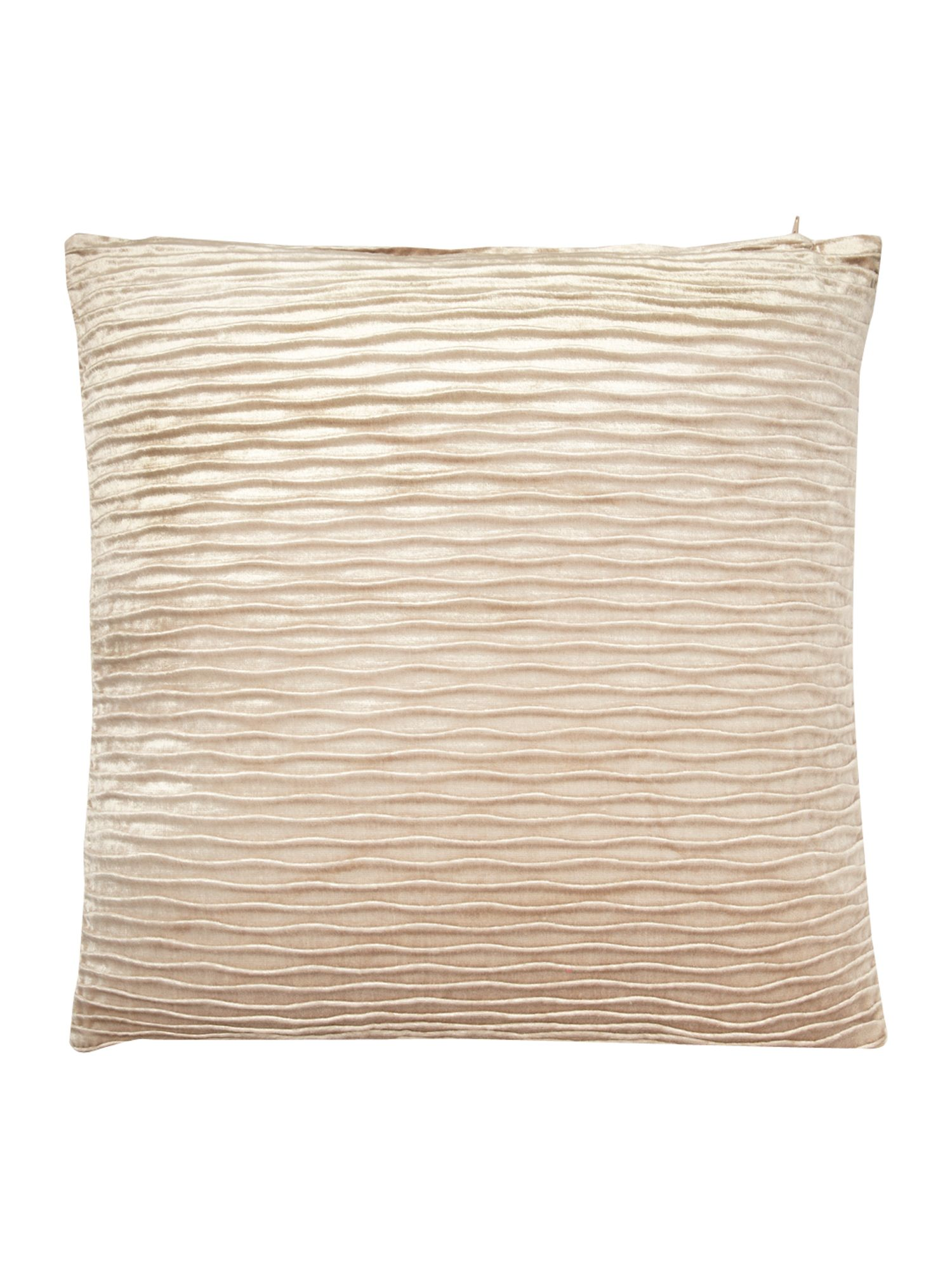 Cream wave cushion