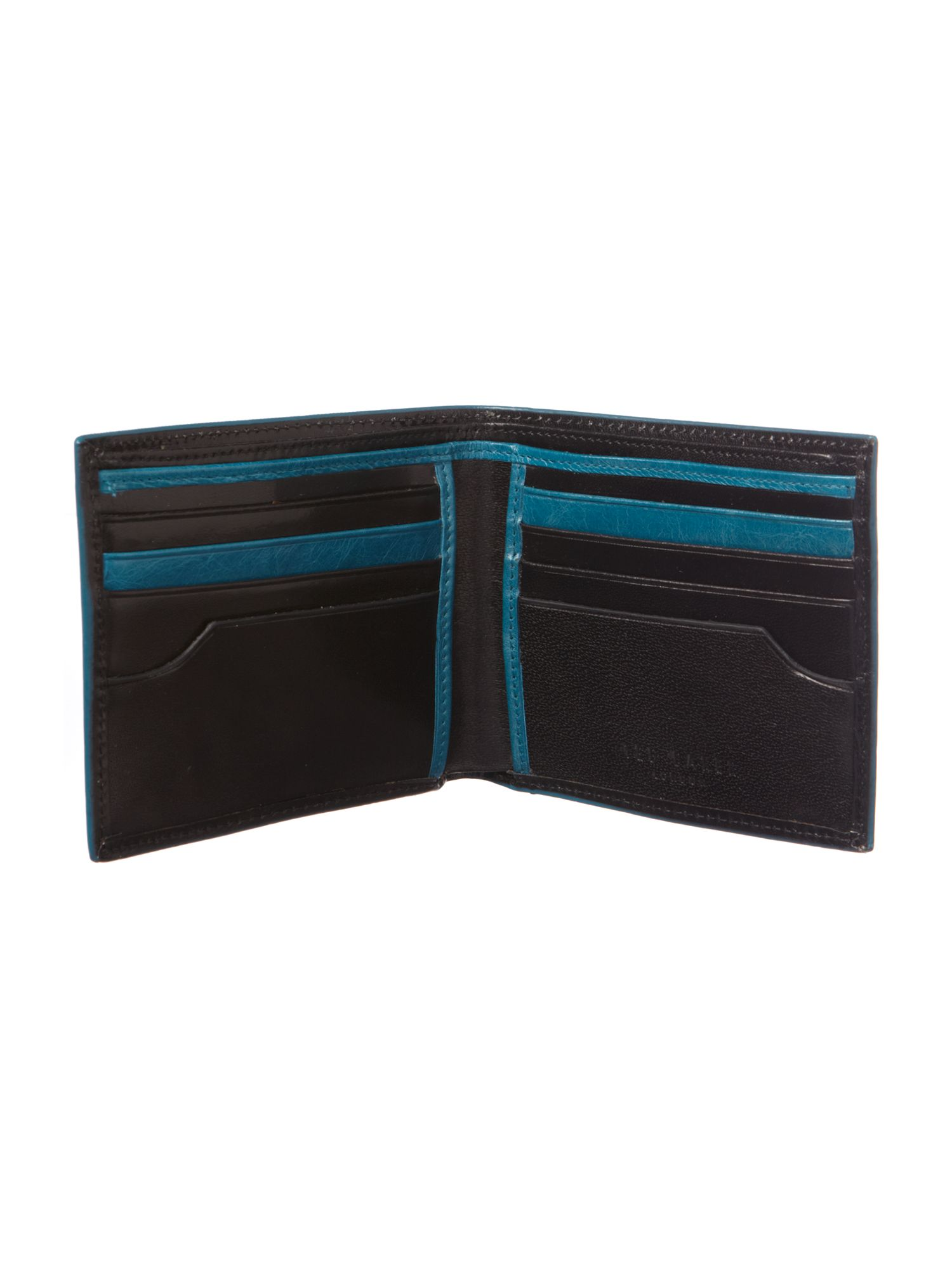 Colour edge bifold wallet
