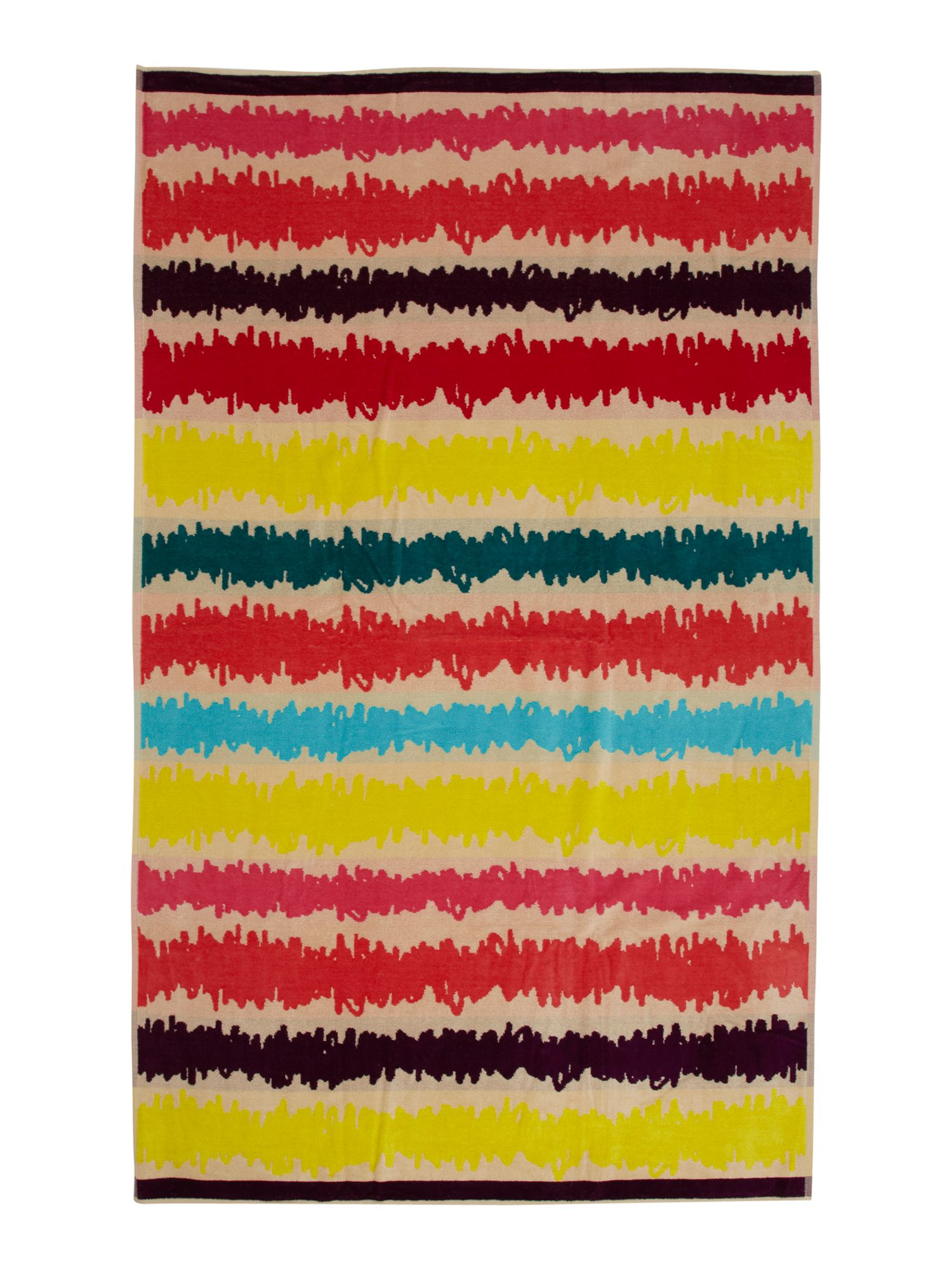 Scribbles beach towel