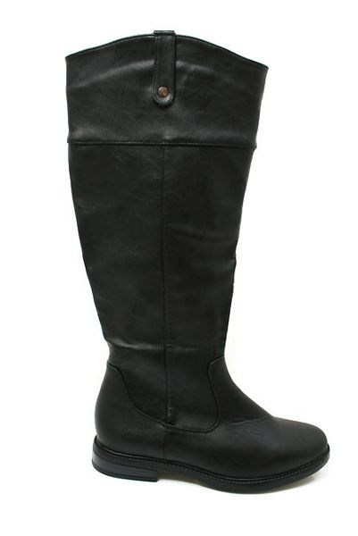 Dash Leatherette knee boot