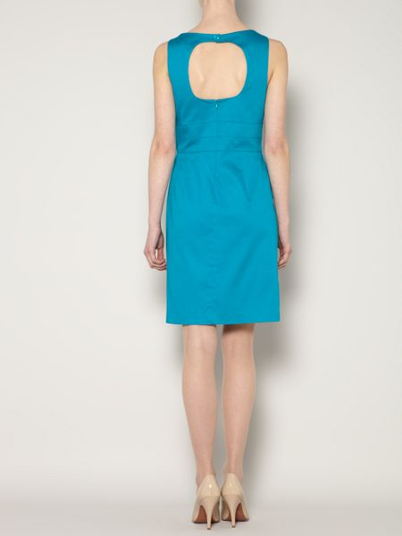 The Department Sleeveless structured woven dress