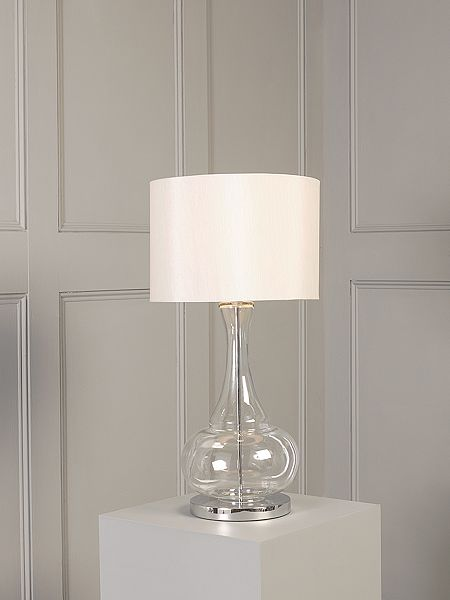 Casa Couture Aurelia Glass Base Table Lamp House Of Fraser