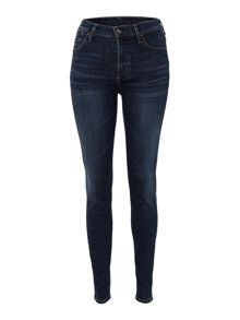 Rocket high rise skinny jeans in Crispy