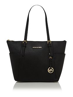 Michael Kors Jet set travel small ziptop tote