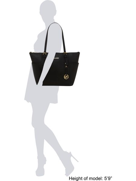 Michael Kors Jet set travel small ziptop tote bag