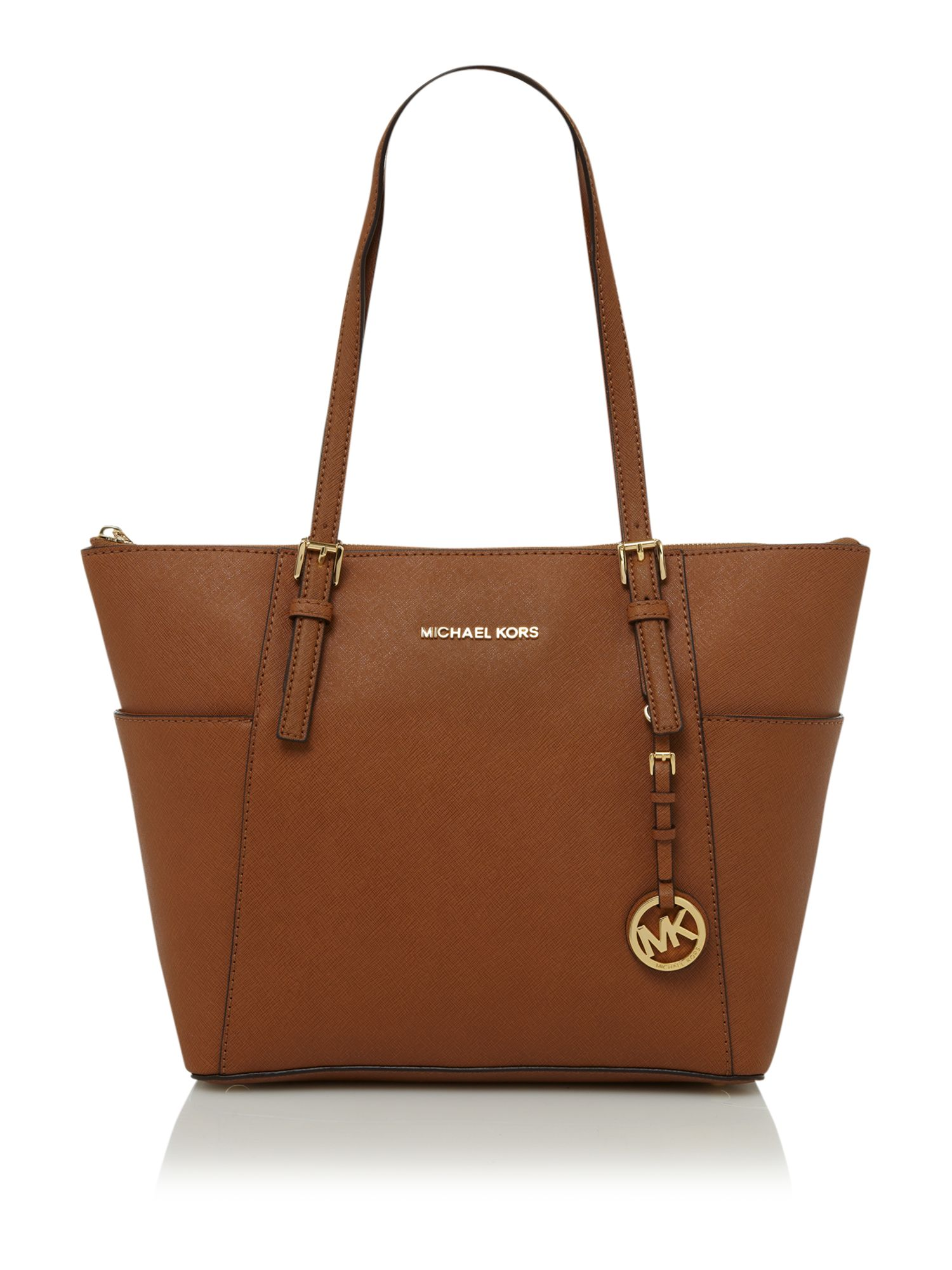 Michael Kors Bags Bluewater Small Riley Bag Peanut Color
