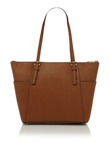 Michael Kors Jet set travel ziptop tote bag