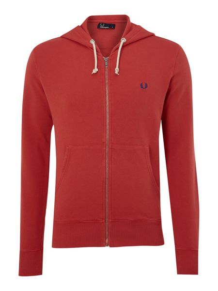 Fred Perry Zip through hooded sweater