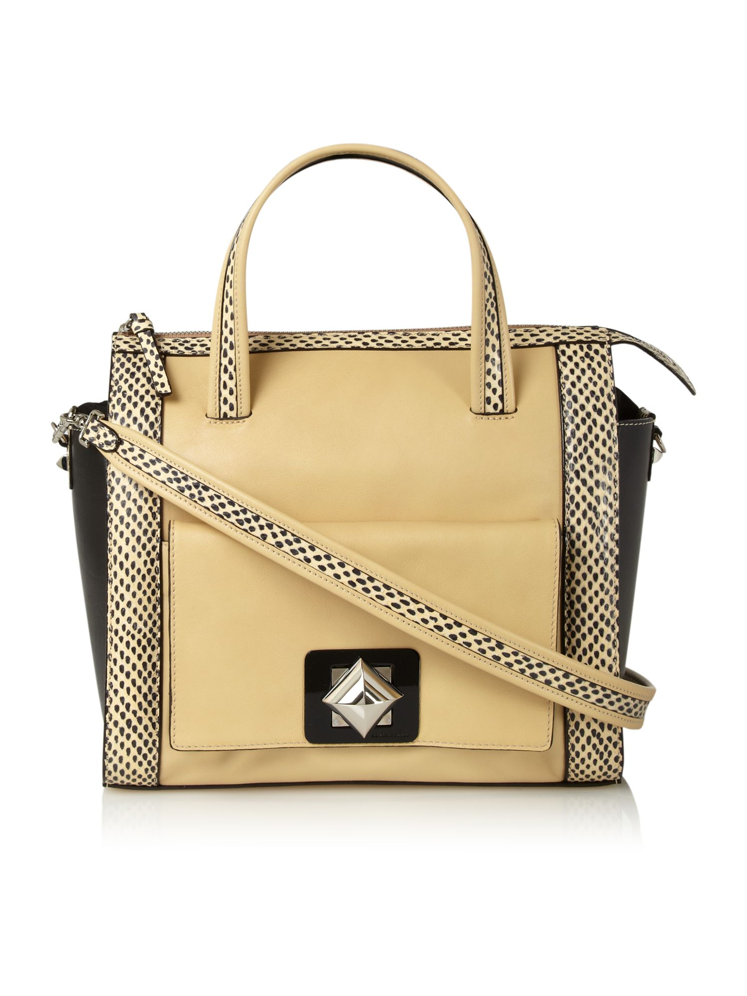 Abel zipped shoulder bag